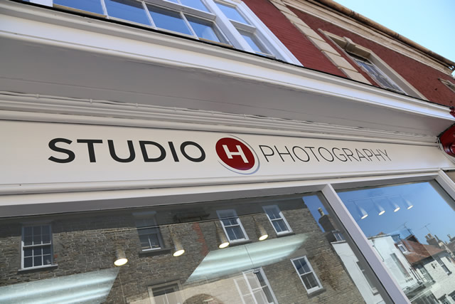 Studio H Photography shop front, 3a Church Street, Wincanton, BA9 9AA