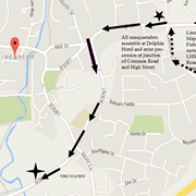Road Closures for Wincanton Carnival this Friday