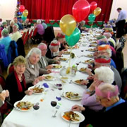This Year's Over-70s Christmas Lunch Will Be On Sunday 4th December