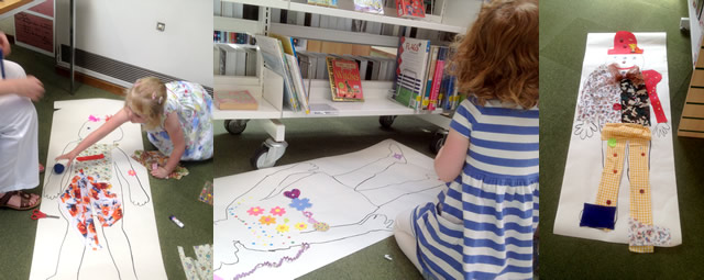 Making BFGs at Wincanton Library