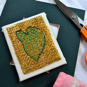 Or Nué Goldwork Hand Embroidery Class