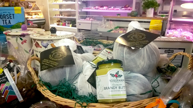 Christmas pudding ingredients and accessories at Kimbers Farm Shop