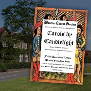 Carols by Candlelight in Bruton