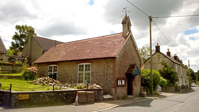 Bayford Chapel before the conversion was complete