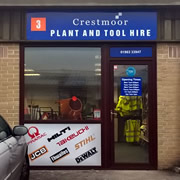 Crestmoor Plant and Tool Hire is open for business in Wincanton