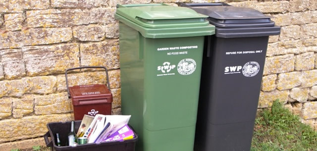 Refuse and recycling bins