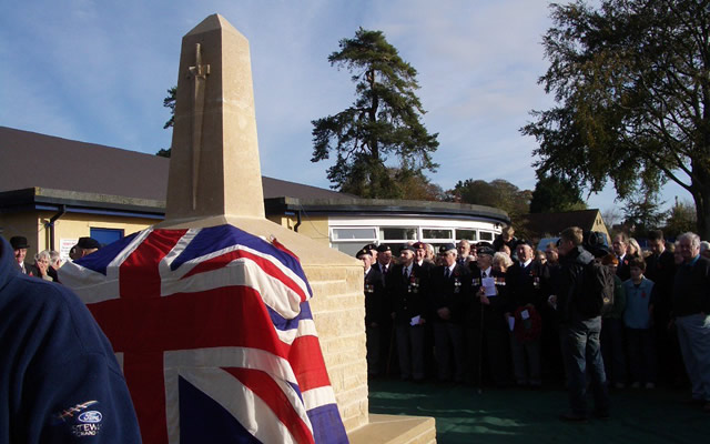 10th anniversary of the Wincanton War Memorial
