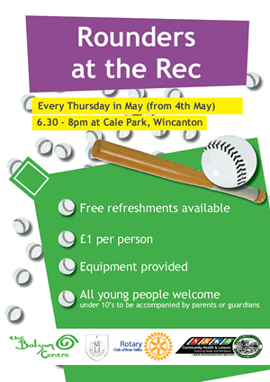 Rounders at the Rec poster