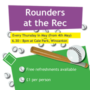 Rounders at the Rec this month is just the beginning...