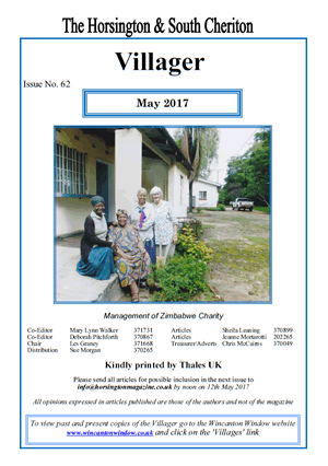 The cover of the Villager magazine, May 2017