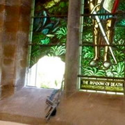 Beautiful stained glass window damaged in Parish Church burglary