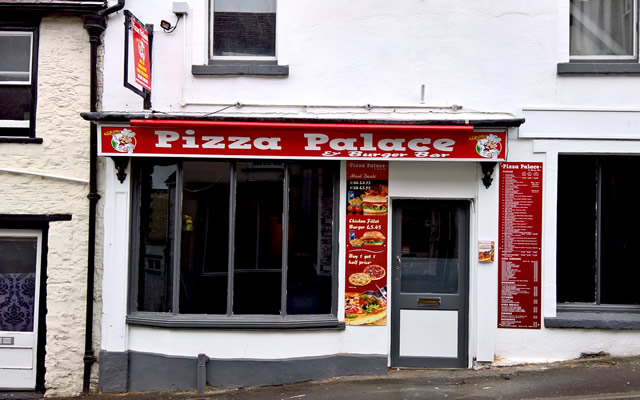 Pizza Palace & Burger Bar, Church Street, Wincanton