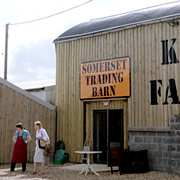 New trading barn at Kimbers' Farm Shop
