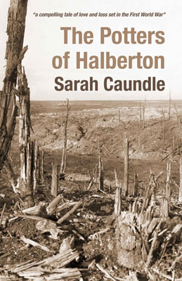 The cover of The Potters of Halberton, by Sarah Caundle from Templecombe