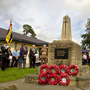Wincanton remembers the Battle of Passchendaele <small style='color: blue;'>VIDEO</small>
