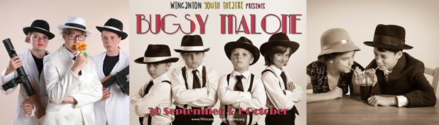 Wincanton Youth Theatre Bugsy Malone performance montage