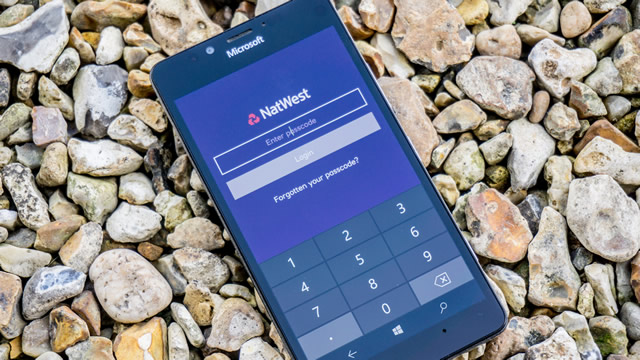 The excellent NatWest mobile banking app