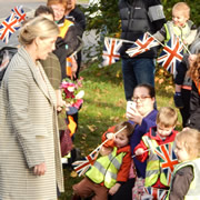 HRH The Countess of Wessex visited the Balsam Centre last week!