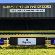 Hello, from the triumphant Wincanton Town FC