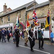 Wincanton's plans for Remembrance Day 2017