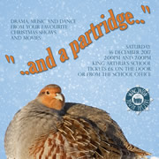 """...and a partridge..."" - Wincanton Youth Theatre's 2017 Christmas show"