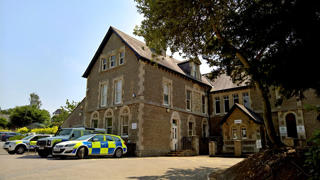 Wincanton Police Station, SSDC office building, Churchfields