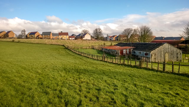 Atkins Hill, Wincanton, on one of Wincanton's attractive residential/green-field boundaries
