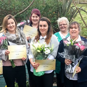 Carrington House care staff acknowledged for long service