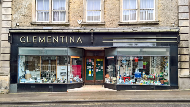 Clementina, the hardware,kitchen and garden shop on Wincanton's High Street