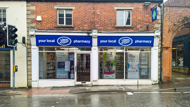 Boots Pharmacy on Wincanton High Street