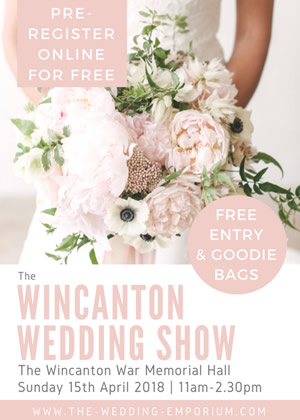 Wincanton Wedding Show 2018 poster