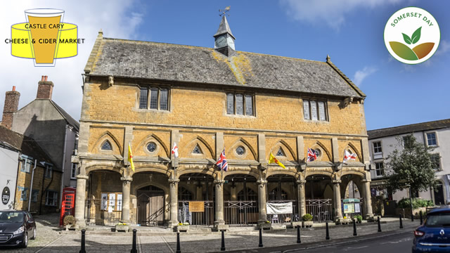 Market House in Castle Cary, host to the first Cheese & Cider Market