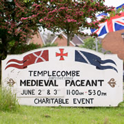 Templecombe Medieval Pageant taketh place this weekend