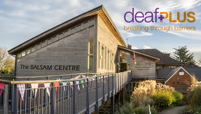 deafPLUS is visiting the Balsam Centre in Wincanton
