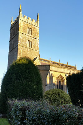 Wincanton Parish Church from the south