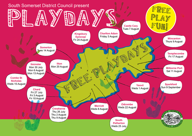 SSDC Play Days 2018 event map