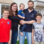 Wincanton mum's delight as part-exchange scheme opens door to dream house swap