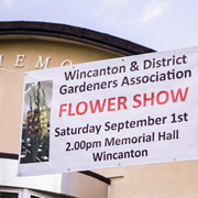 It's Wincanton Flower Show tomorrow!