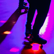 Roller skating at Wincanton Memorial Hall