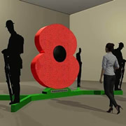 The Poppy of Honour will be unveiled in Wincanton this Saturday