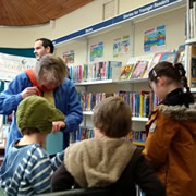 Wincanton Library bucks the trend