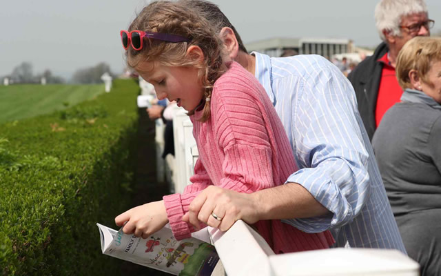 Family Day at Wincanton Racecourse