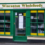 Wincanton Wholefoods is shutting up shop on 27<sup>th</sup> October