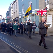 Wincanton's Armistice Day parade 2018 <small style='color: blue;'>VIDEO</small>