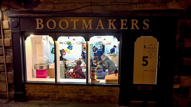 The Bootmakers Workshop during Wincanton Christmas Extravaganza 2017