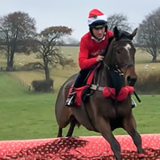 Christmas jumpers at Wincanton Racecourse's iconic Boxing Day meeting