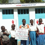 Pilgrim Singers charity gig funded primary school latrine in Uganda