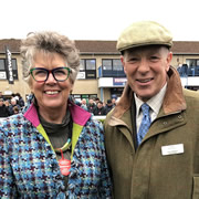 GBBO's Prue Leith recently enjoyed a day at the Wincanton races