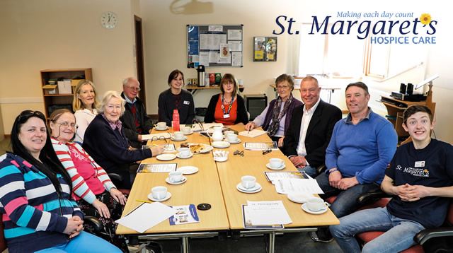 A St. Margaret's Hospice coffee morning in Yeovil