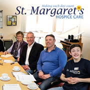 St. Margaret's Hospice information and coffee morning